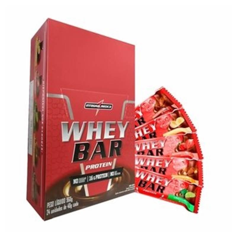 c75e90cbe wheybar protein barra proteica 24 unidade 40g integralmedica. Carregando  zoom.