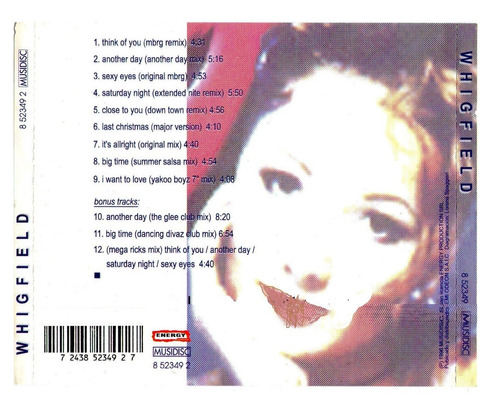whigfield - 3 discos en formato mp3