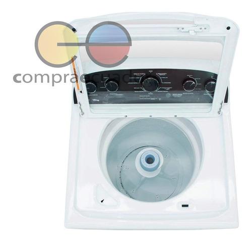 whirlpool lavadora 19 kg 8 ciclos automáticos carga superior