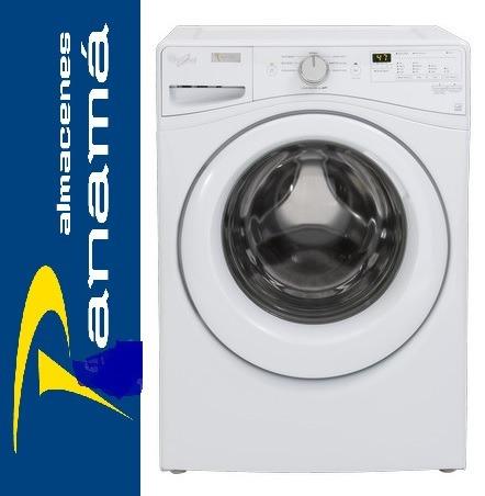 whirlpool lavadora frontal  40  libras americana wfw75