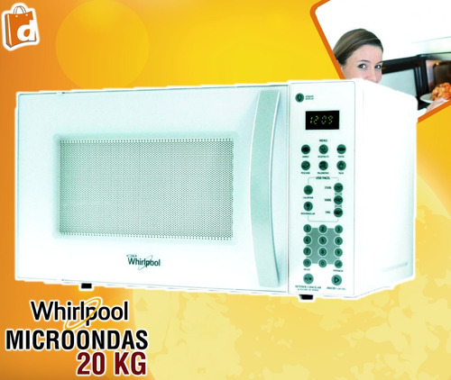 whirlpool microondas 20 litros incluido iva