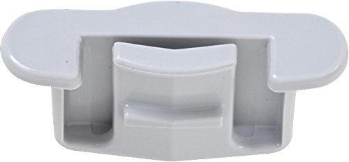 whirlpool w10261227dish rack stop clip