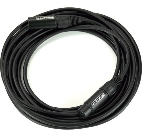 whirlwind quad mkq20 cable xlr de 6 metros para micrófono
