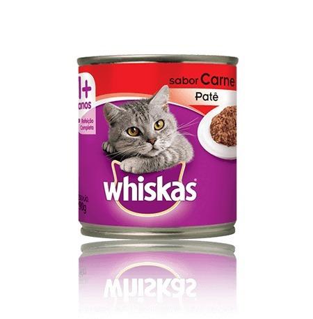 whiskas lata cx com 24 latas - escolha o sabor - mars