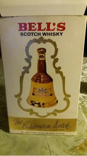whiskey bell's botella de coleccion, 375 ml