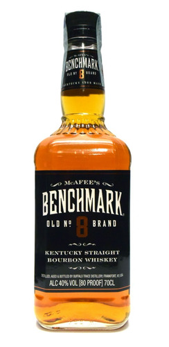 whiskey benchmark nº 8 bourbon whisky envio gratis en caba