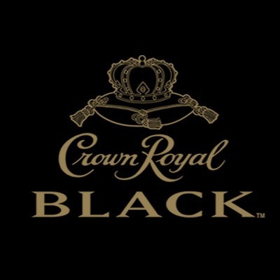 whiskey crown royal black de litro c/ estuche y funda whisky