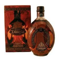 whiskey dimple 15 años de litro con caja