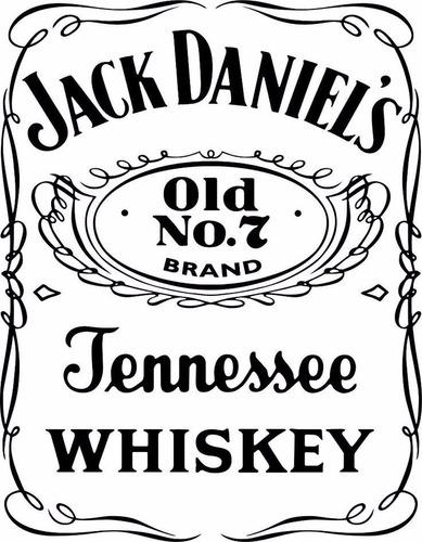 whiskey jack daniels botellon 3 litros whisky con volcador