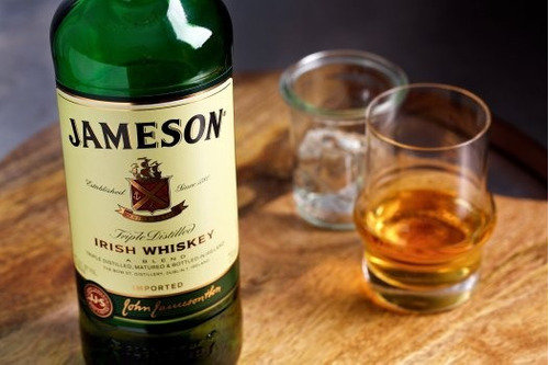 whiskey jameson irish whiskey triple destilado 1000ml