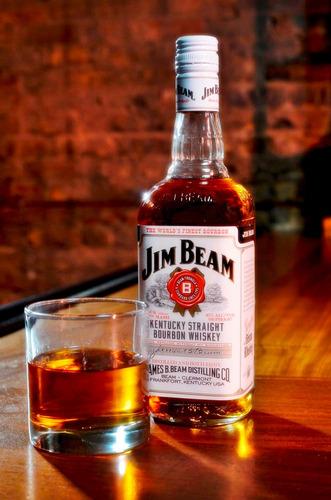whiskey jim beam bourbon 750ml 100% original