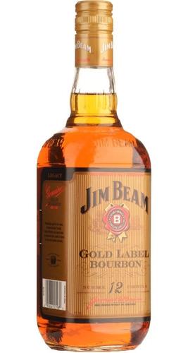 whiskey jim beam gold label edicion 12 whisky envio gratis