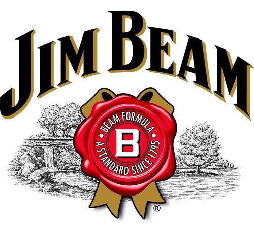 whiskey jim beam white de litro bourbon whisky envio gratis