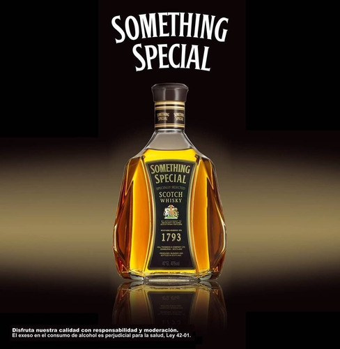 whisky 8 años something special 0,75 litros