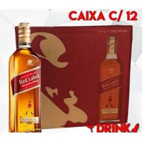 3256927a54b36 Black Label Caixa Com 12 Unidades - Whisky Johnnie Walker no Mercado Livre  Brasil