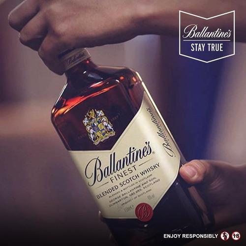 whisky ballantines ballentines finest 1 litro 01almacen