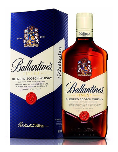 whisky ballantines c/estuche envio gratis en capital federal