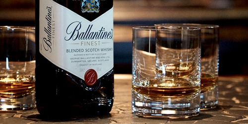 whisky ballantines finest 750ml /100% original