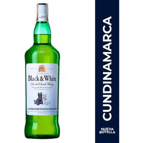 Whisky Black & White 8 Años 700 Ml - mL a $57