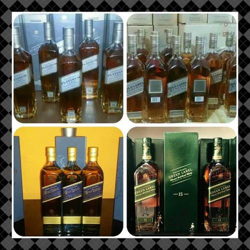 whisky blue label etiqueta azul double black swing chivas