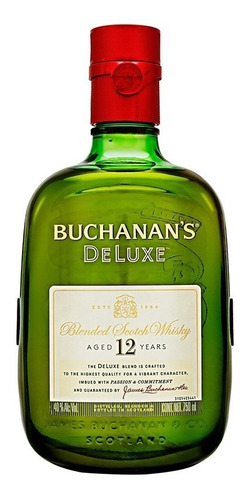 whisky buchanans 12 años 750 ml.