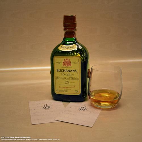 whisky buchanans   12 años
