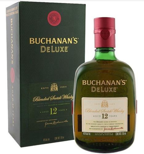 whisky buchanan's 12 años litro