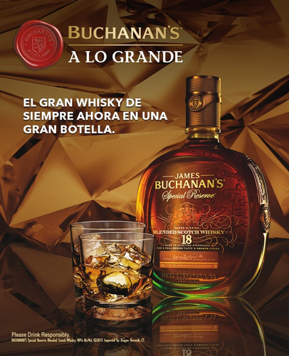 whisky buchanans 18 años 0.75 lt especial reserve