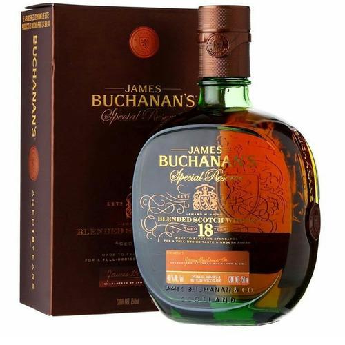 whisky buchanans 18 años (750.ml) 100% original