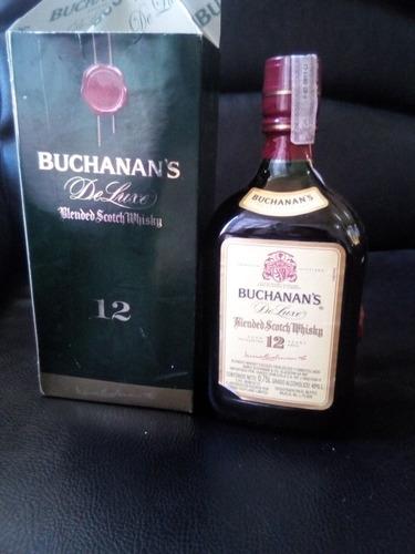 whisky buchanan's de luxe  12 years