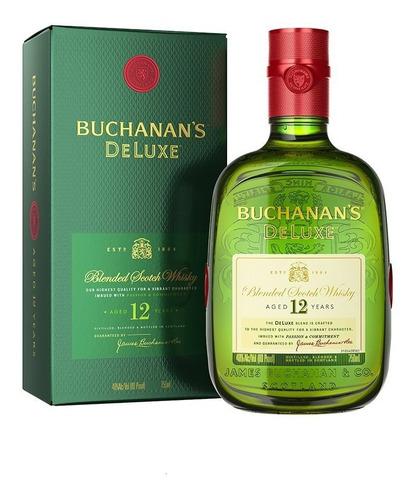 whisky buchanans deluxe 750ml whiskey escoces bebidas
