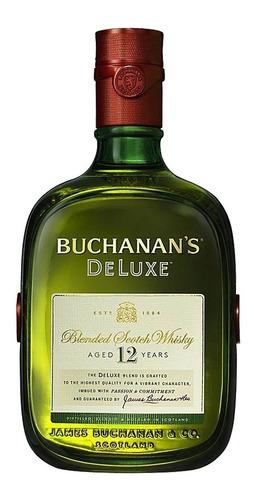 whisky buchanans escoces 12 años 0,75l lf