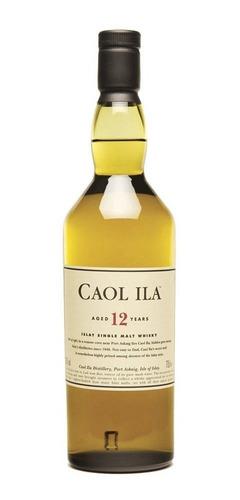 whisky caol ila 12 años single malt 750 ml en estuche