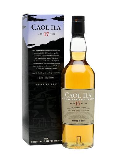 whisky caol ila 17 años unpeated 55.9% ed 2015 en palermo