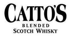 whisky cattos 12 años de litro c/estuche envio gratis caba