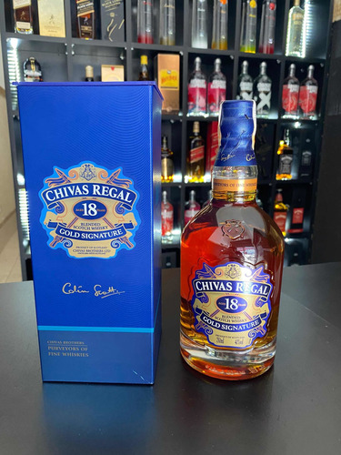whisky chivas 18 anos