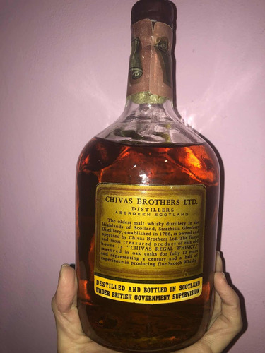 whisky chivas regal 12