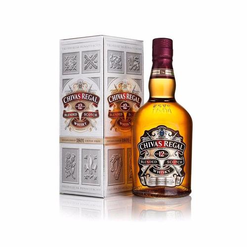 whisky chivas regal 12 años 750 cc dia del padre v crespo