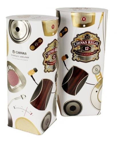 whisky chivas regal 12 años edic. limitada lstn 1000ml lata