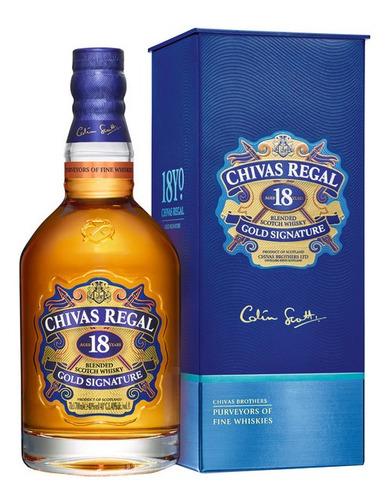 whisky chivas regal 18-años (botella) 100 % original
