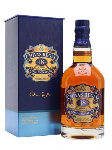 whisky chivas regal 18 años (botella) 100 % original