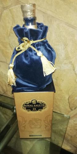whisky chivas regal 21 años porcelana, infodrinks