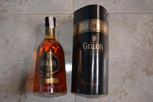 whisky chivas regal, etiqueta negra, old parr, grant´s