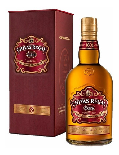 whisky chivas regal extra blend 750cc - oferta