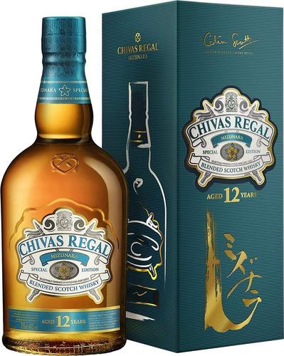 whisky chivas regal mizunara x 700cc con estuche