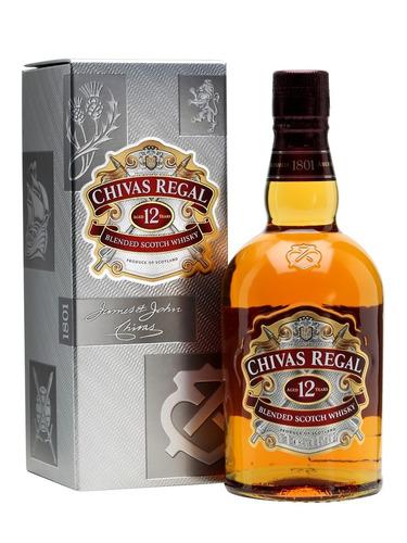 whisky chivas regal x 750 cc