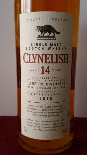 whisky clynelish 14 años