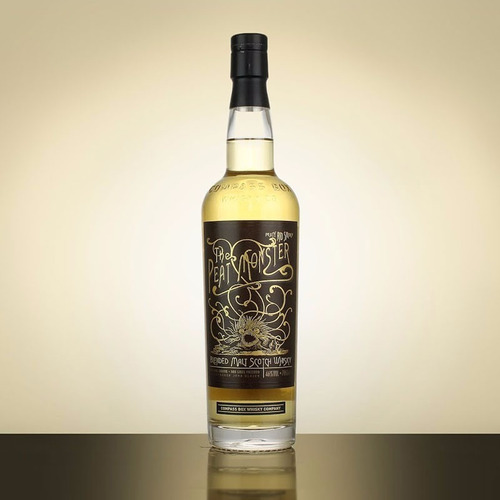 whisky compass box the peat monster 46% con estuche escoces