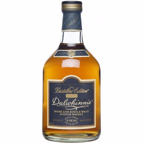 whisky dalwhinnie 17 años single malt con estuche escoces