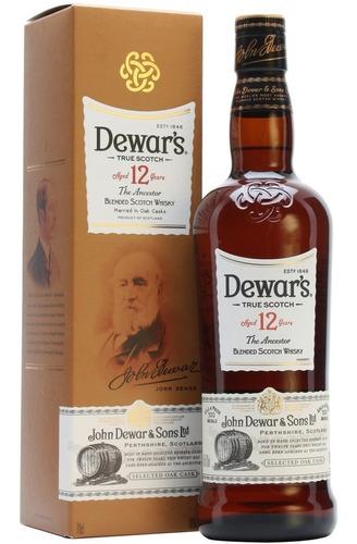 whisky dewars 12 años escoces c/estuche envio gratis caba